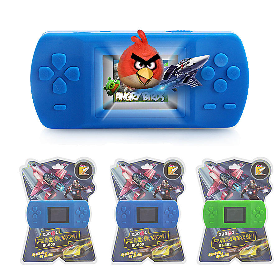 BL-809 LCD Color Screen Handheld Game Player 3-10 Years 2.0 Inch AVG Adventure/ACT Action /RPG Role Play Game With Built-in 228 ...