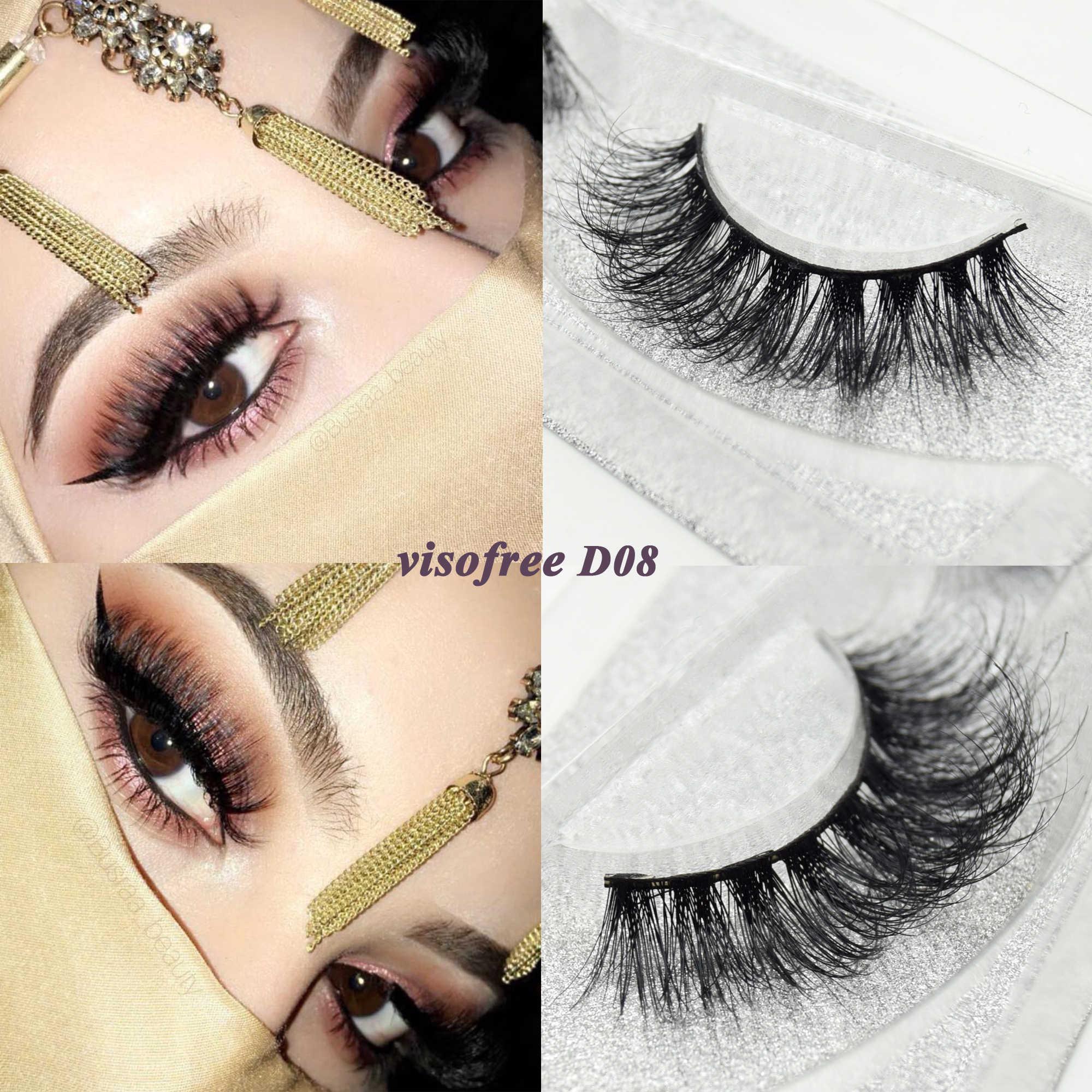 a572a8dc222 Visofree eyelashes 3D mink eyelashes long lasting mink lashes natural  dramatic volume eyelashes extension false eyelashes