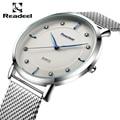 Readeel 2016 Top Brand Luxury Men's Watches Men Wristwatches Stainless Steel Strap Business Dress Watch Reloj Hombre Clock Men