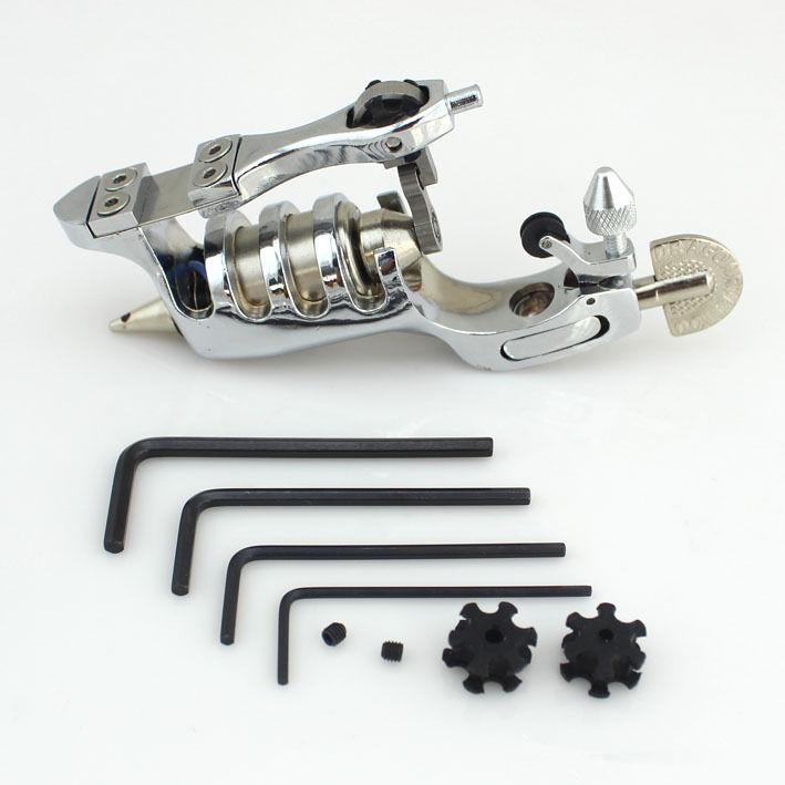 Primus Sunskin Rotary Tattoo Machine silver Precise Rotary Machine tattoo grip tube tip supply kettler primus