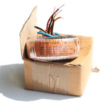 30W Pure Copper TALEMA Audio Toroidal Transformer 30VA  0-230V Output: 6V 9V 12V 15V 18V 25V for choose