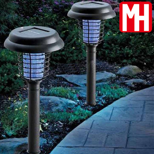 Solar Garden Lights Out Mosquito Repellent Mosquito Lamp Led Lights Lawn  Lamp Outdoor Patio Booby Traps