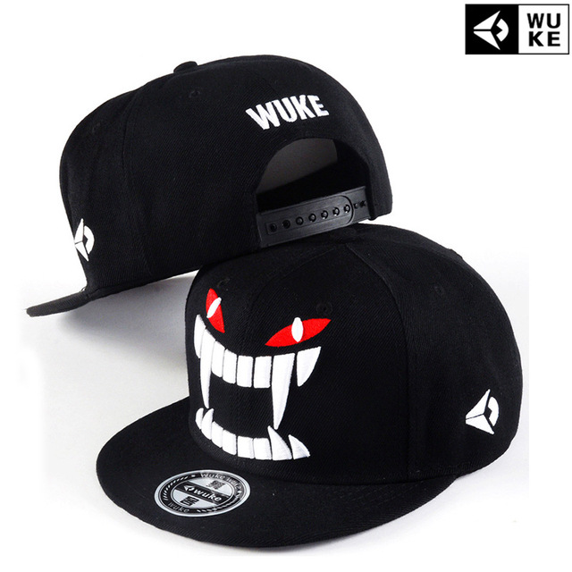 2018 negro gorras planas estilo caliente coreano snapba sombrero plano gorra  de béisbol del hip hop 05462a8aa10