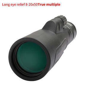 SCOKC Monoculars 8-20x50 High Powered Zoom Monocular-Telescope FMC BAK4 Prism for Hunting Concerts Traveling Wildlife Scenery