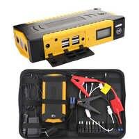 600A 82800 mAH dispositif de démarrage batterie externe saut démarreur voiture batterie Booster chargeur d'urgence 12 v multifonction batterie Booster