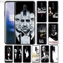 Scarface Godfather Phone Case for Oneplus 7 7Pro 6 6T Oneplus 7 Pro 6T Black Silicone Soft Case Cover