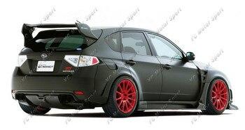Car Accessories Carbon Fiber VS Ver.1 Style Rear Spoiler without Break Light Fit For 2008-2014 Impreza GRB WRX STI Trunk Wing