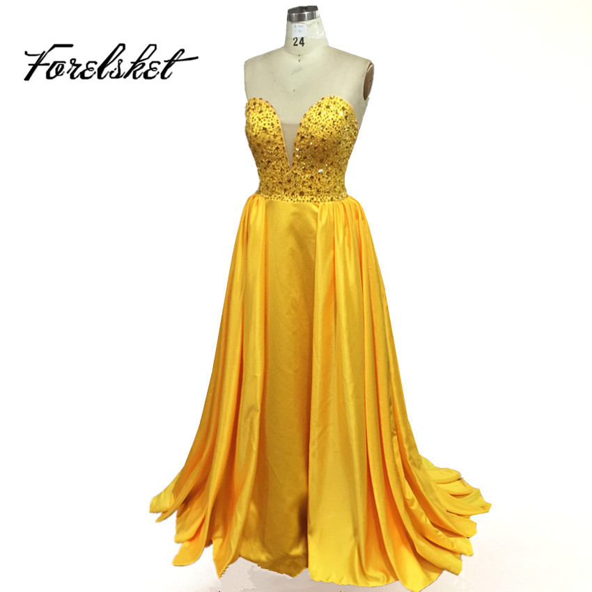 gold prom gown promotion shop for promotional gold prom gown on
