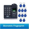 Биометрический дактилоскопический контроль доступа Интерком цифровой электрический RFID код система для ключей дверного замка бирки