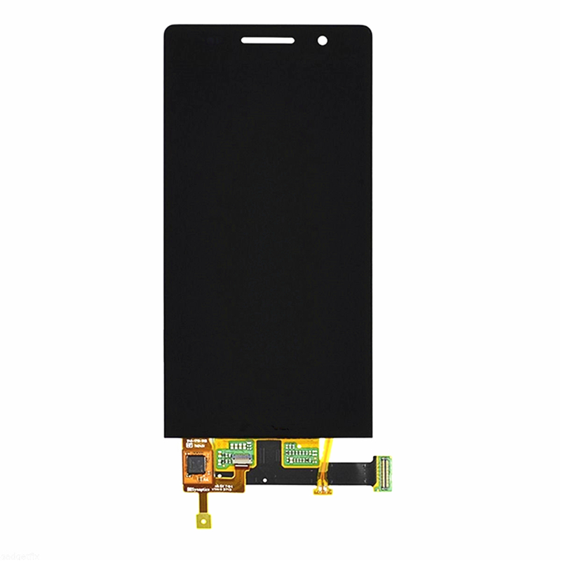 LCD Display Touch Screen Digitizer Assembly For Huawei Ascend P6 replacement original touch screen lcd display assembly framefor huawei ascend p7 freeshipping