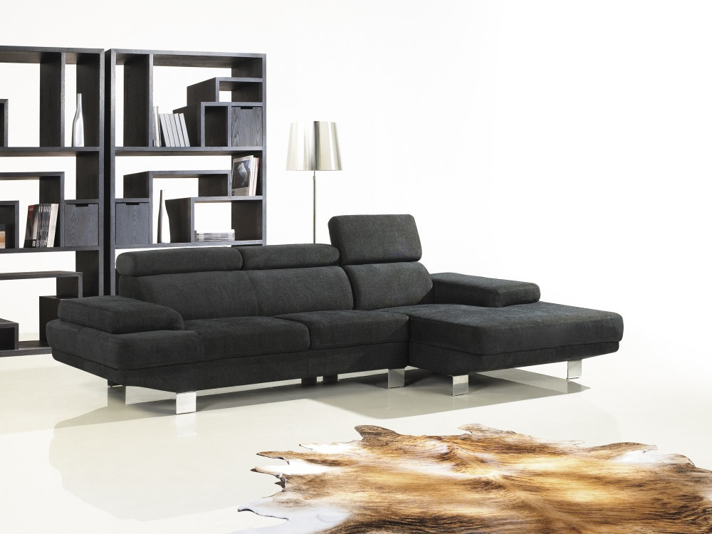 The simplicity of modern sofa combination nordic down size for What size sectional for my room