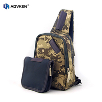 Authentic Advken Doctor Coil Carrying Bag Kit Double Layer Vape Tools Bag With Large Capacity For