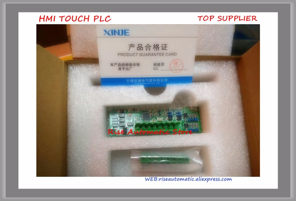 New Original Programmable Controller XC-4AD-BD 14Bit 4AI BD board plc expansion modules new original functional expansion plate fx1n 4ex bd