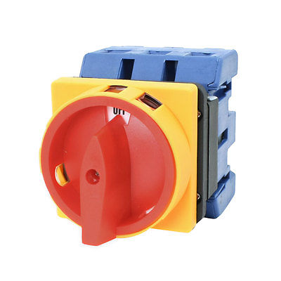 Ui 660V Ith 80A ON/OFF 2 Position Universal Rotary Cam Changeover Switch ui 660v ith 32a on off load circuit breaker cam combination changeover switch