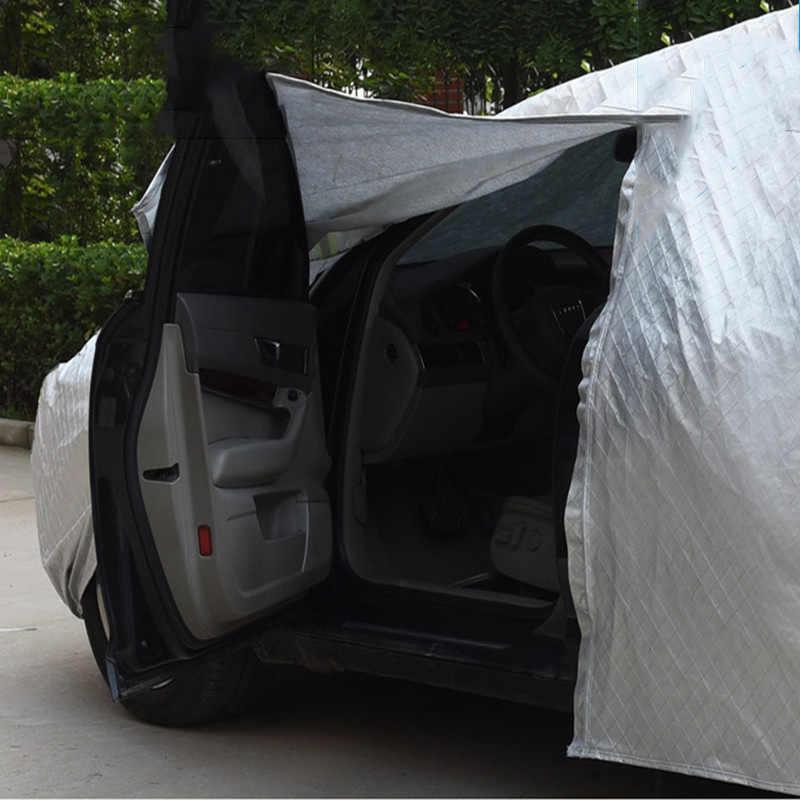 ครอบคลุมรถยนต์หิมะฝุ่นป้องกันอัตโนมัติปกอาทิตย์ร่มhoodเต็มปกคลุมสำหรับออดี้c5 c6 c7 c4 80 a7 a8 a8l q2 q3 q5 q7 S3 S4 SQ5 SQ7