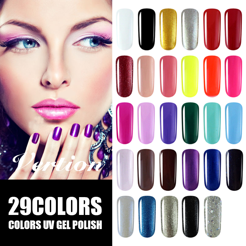 Gel Nail Polish Sale: Verntion Manicure Products Sale Semi Permanent Gel Nail