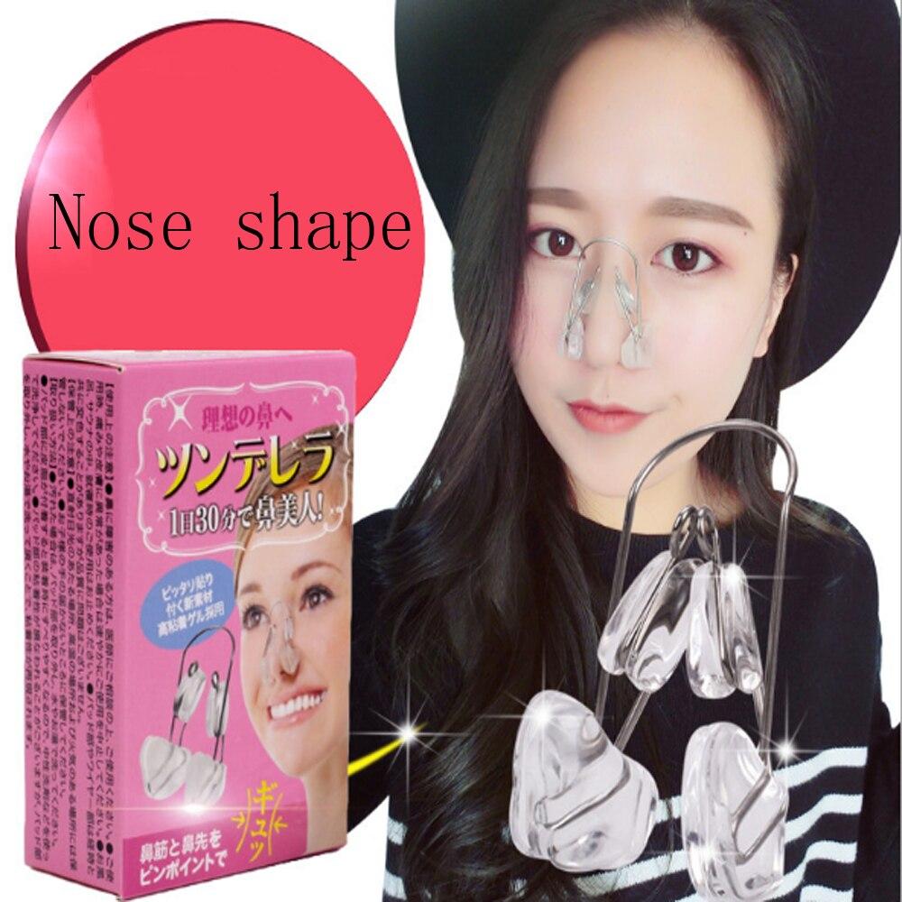 Pinza para moldear la silueta de la nariz, puente de levantamiento, pinza de masaje de belleza para la nariz, Corrector de belleza para la nariz, herramienta de masaje