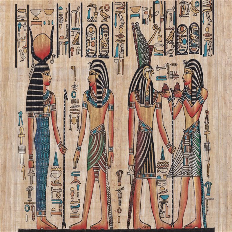 Ancient egyptian art promotion shop for promotional for Egyptian mural painting