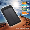 Marca A Prueba de agua Solar Power Bank 5000 mah Batería Externa Powerbank Cargador Portátil Cargador de Batería Solar para todos los teléfonos