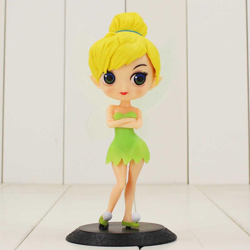 2 sztuk 16cm Q Posket nowy Tinkerbell księżniczka rysunek z bazy bajki piękne pcv zabawki figurki akcji Model na prezenty dla dzieci