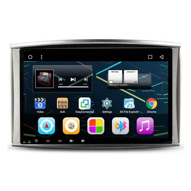 10.2 Autoradio android Audio Autoradio Headunit Autoradio pour Lexus LX470 LX 470 Toyota Land Cruiser 100 LC100