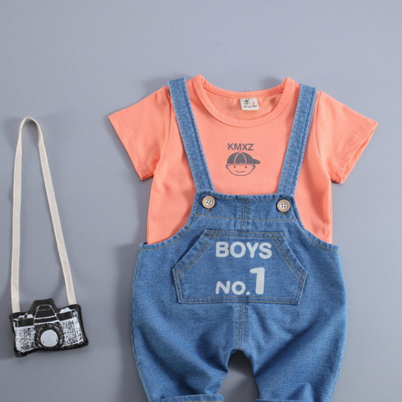 Baby Boy Clothing Sets Summer 2018 New Arrival Newborn Boys Clothes Set Bebe Clothing Set Shirt+Pants Infant Clothes