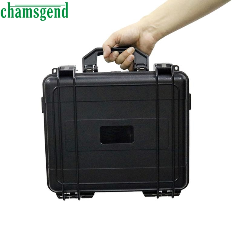 ФОТО CHAMSGEND Waterproof Hard Carrying Case Military Spec for DJI Mavic Pro Drone Drop Shipping Mar22