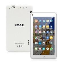 Kmax планшетный ПК 7 дюймов IPS 4 ядра Android 6.0 Google Планшеты двойной Камера Bluetooth 16 ГБ Встроенная память WI-FI Планшеты K-A7i Quad