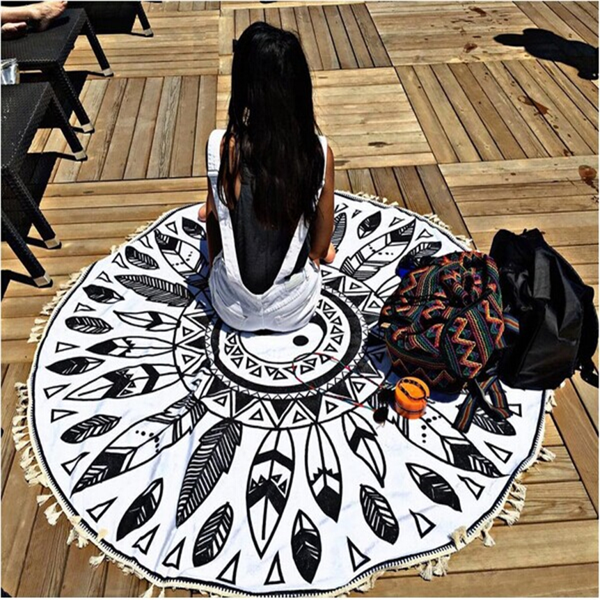 Home Wider hot selling Fashion Beach Pool Home Shower Towel Blanket Table Cloth Yoga Mat oct1011 Drop Shipping
