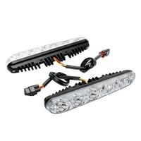 1 Pair Auto Daytime Running Lights Car Daytime LED Light Car Styling DRL DC 12V Turn