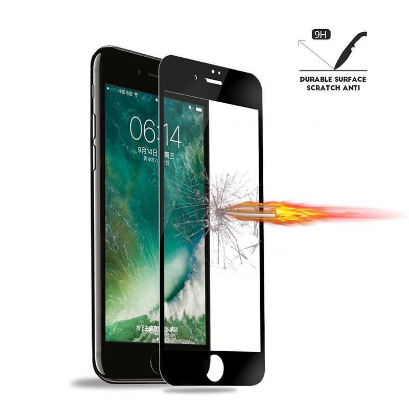 5D szkło ochronne na na iPhone XR XS Max hartowane szkło hartowane dla iPhone 8 6 s 7 Plus folia ochronna na ekran