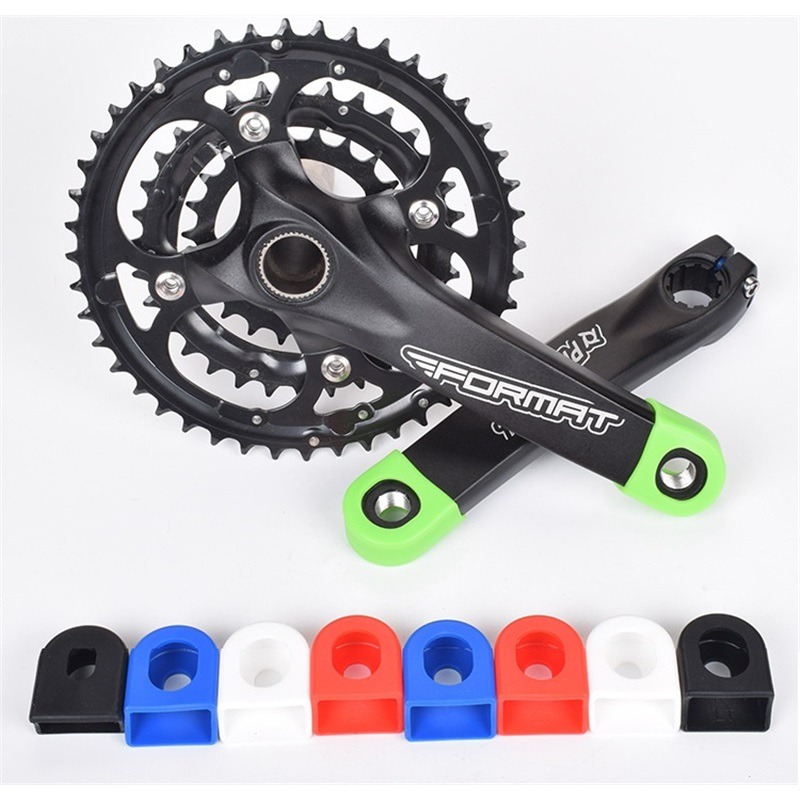 1PC USA Bicycle Bike Silicone Crank Arms Protector Case Cover Cap Crankset Cycle