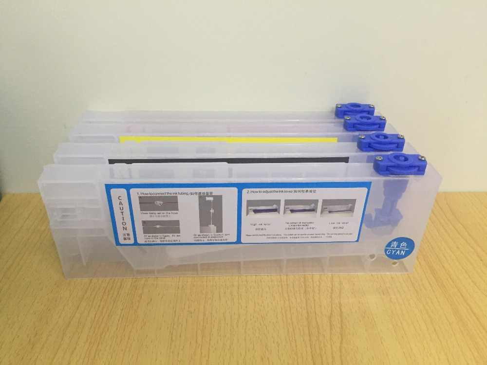 4 pcs/lot 220 ml kosong isi ulang kartrid tinta untuk Roland/Mimaki/Mutoh dan lainnya printer sistem tinta massal