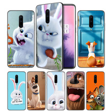 The Secret Life of Pets Soft Black Silicone Case Cover for OnePlus 6 6T 7 Pro 5G Ultra-thin TPU Phone Back Protective