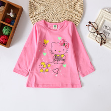 Korean Clothes for Girls Kids T-shirt Long Sleeve Baby tshirt Spring Autumn Bottoming T-Shirt Girls Long Sleeve Basic tshirt