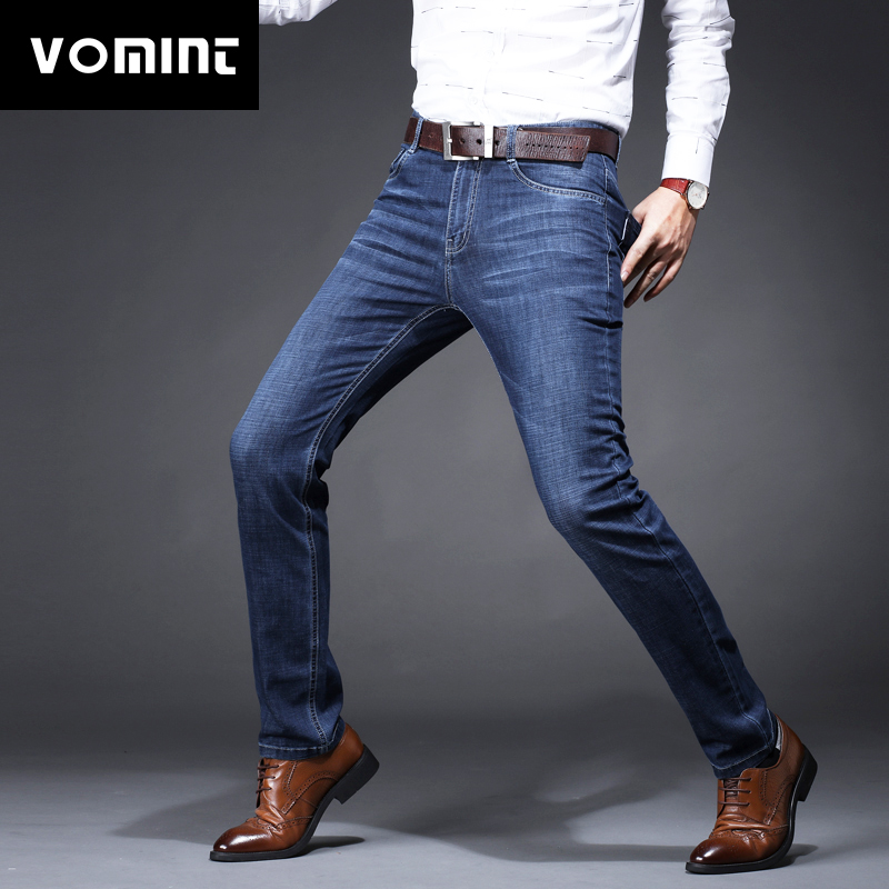 2018 New Men's Jeans Hot sale Denim Classic Jeans Slim Regular Straight Leg Long Jeans Casual Pants XY817