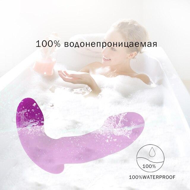 Wearable Vibrator Dildo Vibrating Panties Vaginal Massage G Spot Clitoris Stimulator Female Masturbation Sex Toys for Woman 5
