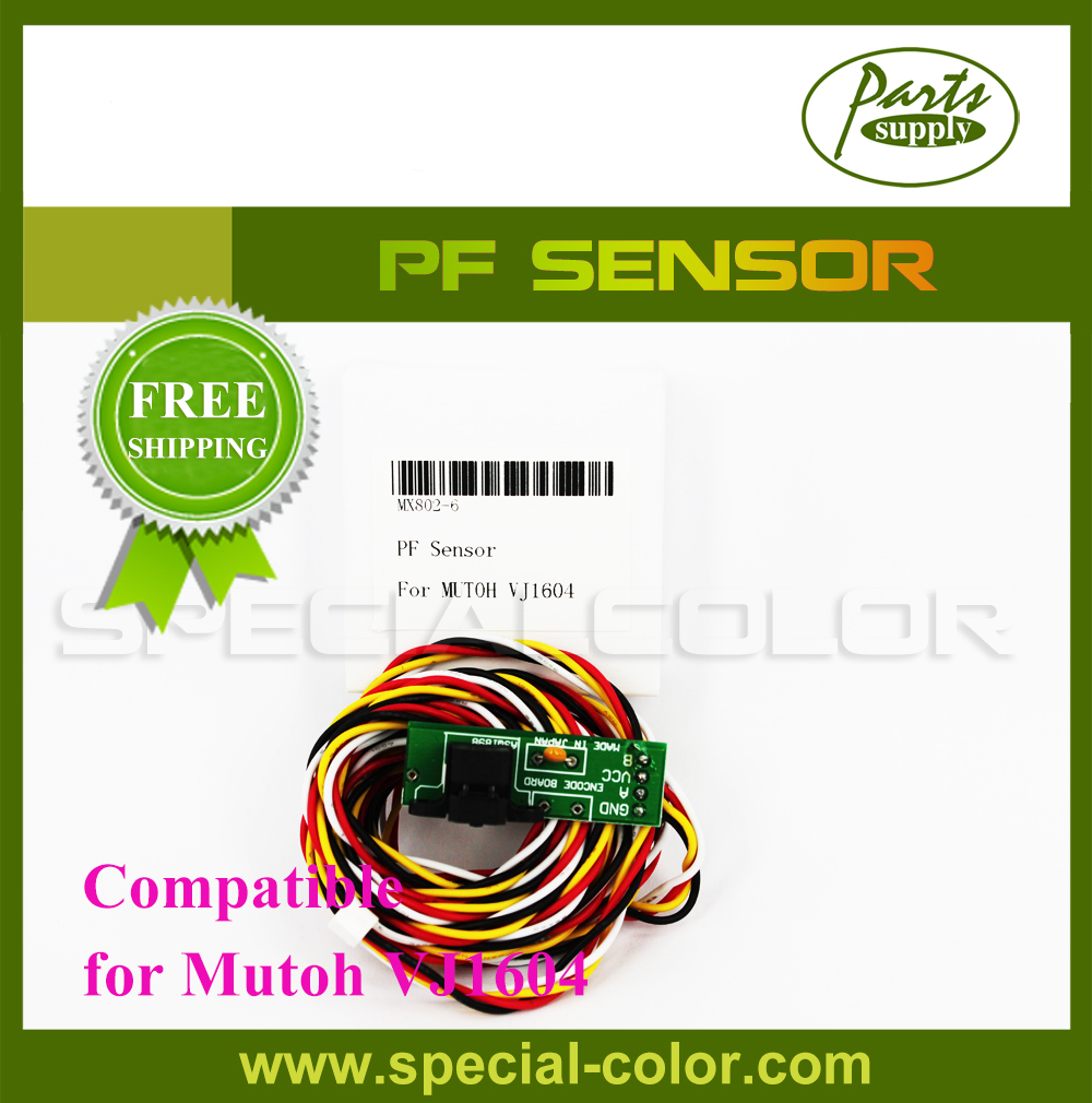 New Large format printer PF Sensor for Mutoh VJ1604 mutoh vj1604 mainfold mutoh vj1604 printer head cap adapter for mutoh vj1604 solvent ink printer