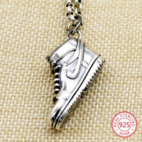 S925 sterling silver pendant personalized creative fashion accessories shoes styling to send lover gift 2019 new hot