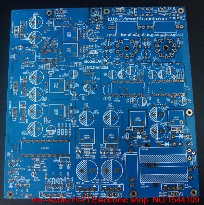 1 PCS VIN DAC-50 decoder PCM63 piatto vuoto tubo di uscita circuito integrato 6922 di TRASPORTO LIBERO1 PCS VIN DAC-50 decoder PCM63 piatto vuoto tubo di uscita circuito integrato 6922 di TRASPORTO LIBERO