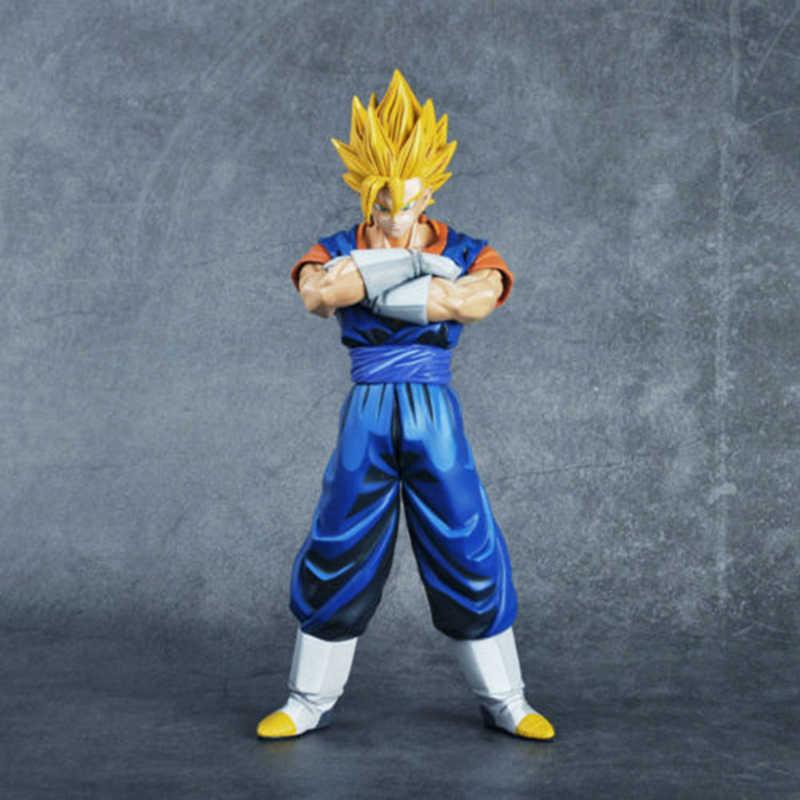 26 cm Anime Dragon Ball Z DBZ Estrelas Mestre Pedaço MSP Vegetto PVC Action Figure Brinquedos Modelo Coleções