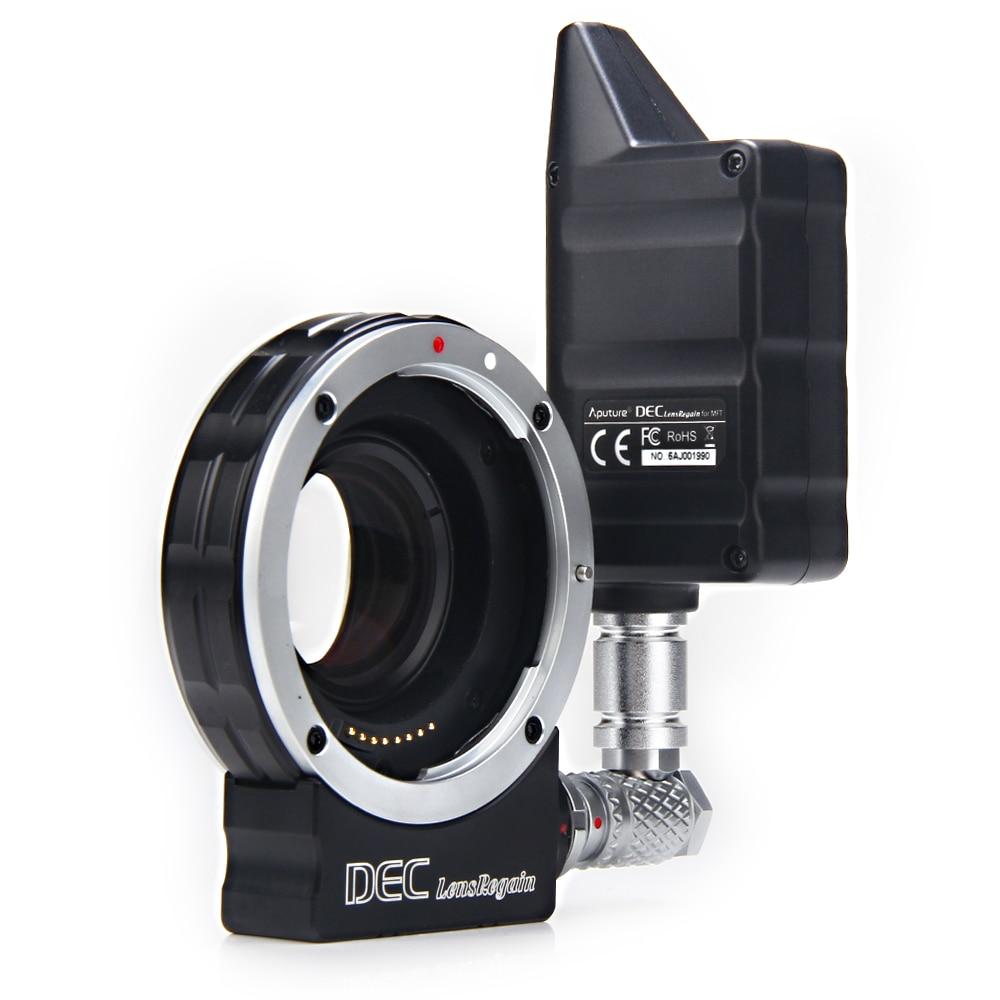 Aputure focus reducing adapter telecompressor Optic Reducer Adapter wireless focus controller follow focus DECLensRegain for MFT