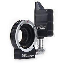 Aputure enfoque reducir adaptador telecompressor Óptica Reductor Adaptador wireless controller follow focus DECLensRegain para MFT