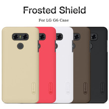 G6 Case Nillkin Frosted Shield Hard Back Cover for lg g6 Plastic Shell With Free Film HD9