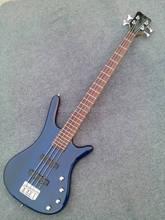 Freies Verschiffen Neue guitarra bass gitarre shop OEM blau vier string e-bass guitarra/gitarre China