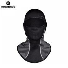 ROCKBROS Зимний Лыжный термальный головной убор для шеи из лайкры Снежный шарф для сноубординга головные уборы Лыжная Шапка ветрозащитная теплая маска для лица для мужчин и женщин