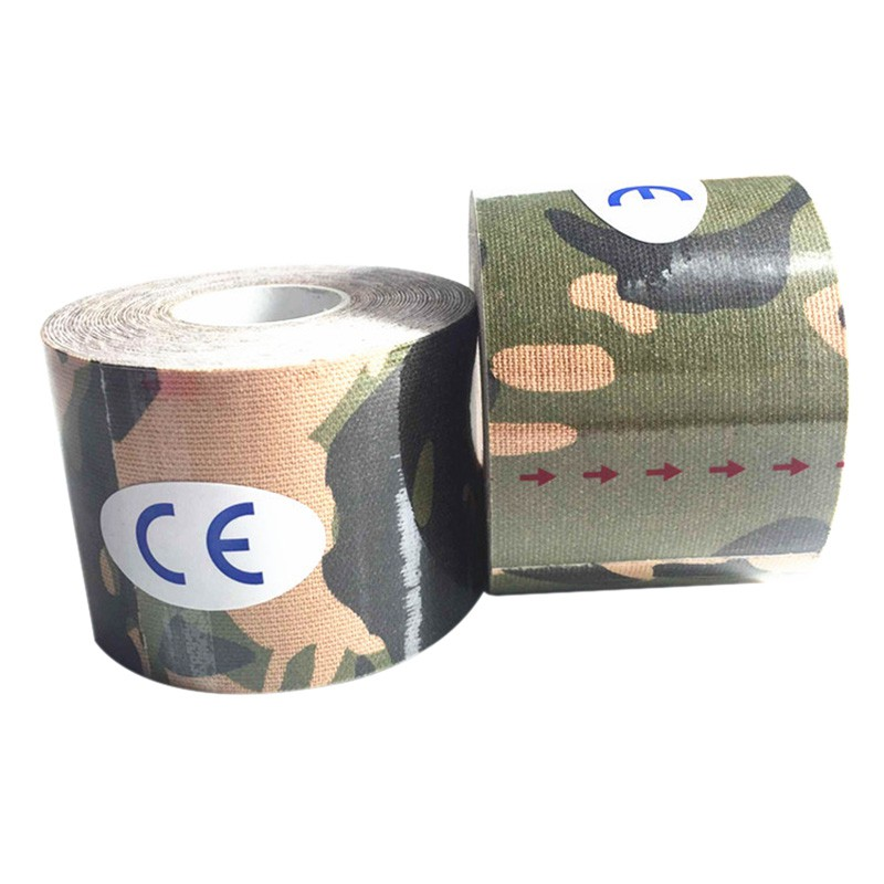 5cm 5m Elasti Cotton Medical Roll Adhesive Kinesio Tape Sports Injury Muscle Strain Protection Tapes First