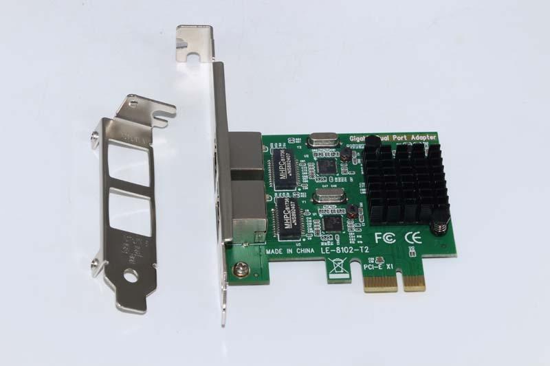 High Quality Gigabit PCI-Express Network Card 1000M PCI-e Double RJ45 Port NIC Adapter Server Lan Adapter For PC Desktop high quality dialogic d300jcte175wcn d300jct e1 pci 30