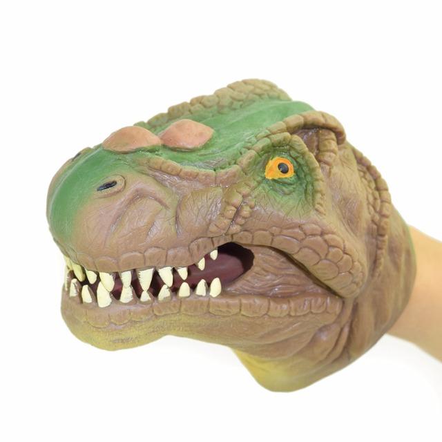 Soft Vinyl PVC Dinosaur Hand Puppet