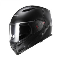 LS2 Flip Up Motorcycle Helmet Double Lens Sun Visor Full Face Motorbike Helmet FF324 Modular Racing